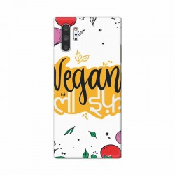 Buy Samsung Galaxy Note 10 Pro Vegan Life Mobile Phone Covers Online at Craftingcrow.com