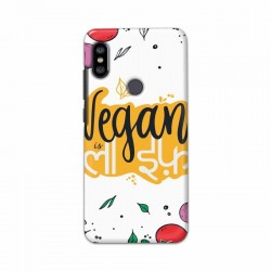 Buy Xiaomi Redmi Note 6 Pro Vegan Life Mobile Phone Covers Online at Craftingcrow.com