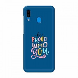 Buy Samsung Galaxy A30 Be Proud I Mobile Phone Covers Online at Craftingcrow.com