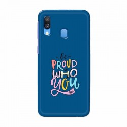 Buy Samsung Galaxy A40 Be Proud I Mobile Phone Covers Online at Craftingcrow.com
