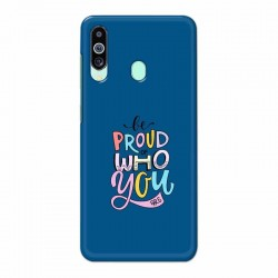 Buy Samsung M40 Be Proud I Mobile Phone Covers Online at Craftingcrow.com