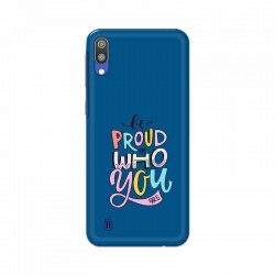 Buy Samsung Galaxy M10 Be Proud I Mobile Phone Covers Online at Craftingcrow.com