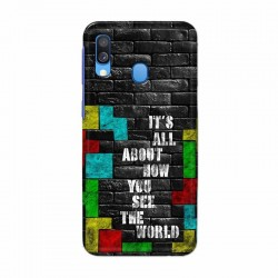 Buy Samsung Galaxy A40 tetris (1) Mobile Phone Covers Online at Craftingcrow.com