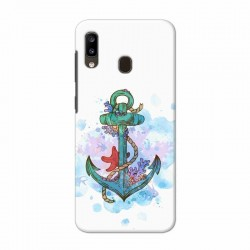 Buy Samsung Galaxy A20 Abstract Anchor Mobile Phone Covers Online at Craftingcrow.com