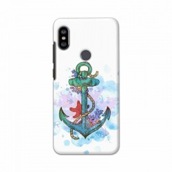 Buy Xiaomi Redmi Note 6 Pro Abstract Anchor Mobile Phone Covers Online at Craftingcrow.com