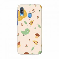 Buy Samsung Galaxy A40 Auntumn Fox Mobile Phone Covers Online at Craftingcrow.com