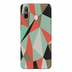 Buy Samsung Galaxy A60 Big Geometry Mobile Phone Covers Online at Craftingcrow.com