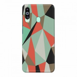 Buy Samsung M40 Big Geometry Mobile Phone Covers Online at Craftingcrow.com