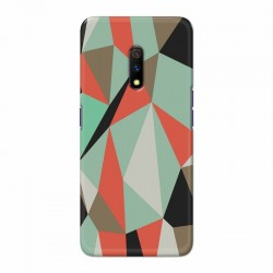 Buy Oppo Realme X Big Geometry Mobile Phone Covers Online at Craftingcrow.com