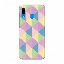 Buy Samsung Galaxy A30 Cubes Mobile Phone Covers Online at Craftingcrow.com