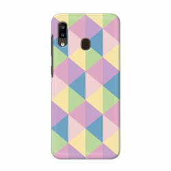 Buy Samsung Galaxy A20 Cubes Mobile Phone Covers Online at Craftingcrow.com