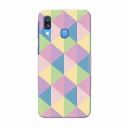 Buy Samsung Galaxy A40 Cubes Mobile Phone Covers Online at Craftingcrow.com