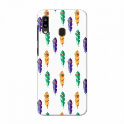 Buy Samsung Galaxy A20 Feathers Mobile Phone Covers Online at Craftingcrow.com