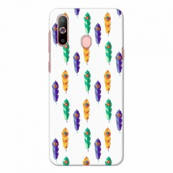 Buy Samsung Galaxy A60 Feathers Mobile Phone Covers Online at Craftingcrow.com