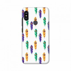 Buy Xiaomi Redmi Note 6 Pro Feathers Mobile Phone Covers Online at Craftingcrow.com