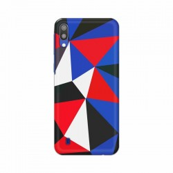 Buy Samsung Galaxy M10 Geometric BG Mobile Phone Covers Online at Craftingcrow.com