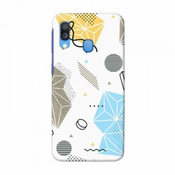 Buy Samsung Galaxy A40 Geometric Mobile Phone Covers Online at Craftingcrow.com