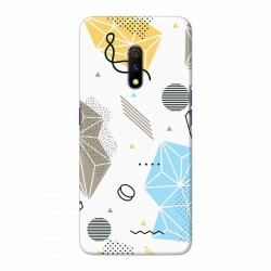 Buy Oppo Realme X Geometric Mobile Phone Covers Online at Craftingcrow.com