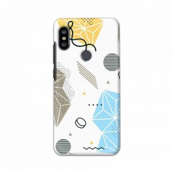 Buy Xiaomi Redmi Note 6 Pro Geometric Mobile Phone Covers Online at Craftingcrow.com