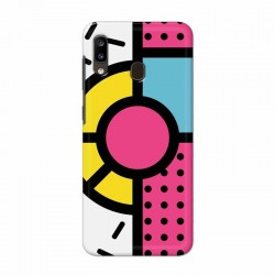 Buy Samsung Galaxy A20 Geometry Mobile Phone Covers Online at Craftingcrow.com