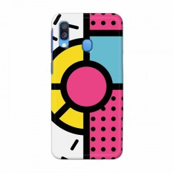 Buy Samsung Galaxy A40 Geometry Mobile Phone Covers Online at Craftingcrow.com