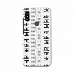 Buy Xiaomi Redmi Note 6 Pro Mud Cloth Whites Mobile Phone Covers Online at Craftingcrow.com