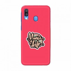 Buy Samsung Galaxy A40 Music Life Mobile Phone Covers Online at Craftingcrow.com