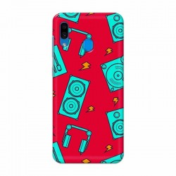 Buy Samsung Galaxy A30 Music Mobile Phone Covers Online at Craftingcrow.com