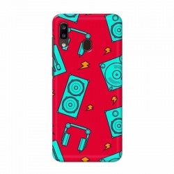 Buy Samsung Galaxy A20 Music Mobile Phone Covers Online at Craftingcrow.com