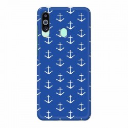 Buy Samsung M40 Anchor Pattern Mobile Phone Covers Online at Craftingcrow.com