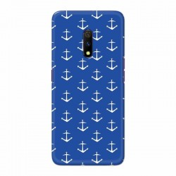 Buy Oppo Realme X Anchor Pattern Mobile Phone Covers Online at Craftingcrow.com
