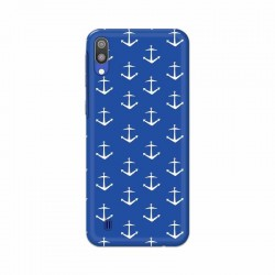 Buy Samsung Galaxy M10 Anchor Pattern Mobile Phone Covers Online at Craftingcrow.com