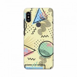 Buy Xiaomi Redmi Note 6 Pro Shapes Mobile Phone Covers Online at Craftingcrow.com
