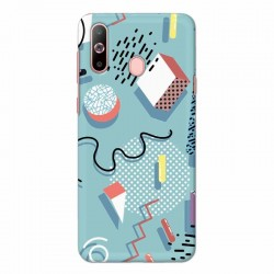Buy Samsung Galaxy A60 Spiral Mobile Phone Covers Online at Craftingcrow.com