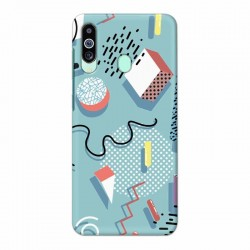 Buy Samsung M40 Spiral Mobile Phone Covers Online at Craftingcrow.com