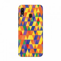 Buy Samsung Galaxy A20 triangular Mobile Phone Covers Online at Craftingcrow.com