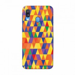 Buy Samsung Galaxy A40 triangular Mobile Phone Covers Online at Craftingcrow.com