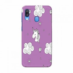 Buy Samsung Galaxy A40 unicorn Clouds Mobile Phone Covers Online at Craftingcrow.com