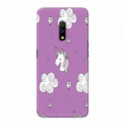 Buy Oppo Realme X unicorn Clouds Mobile Phone Covers Online at Craftingcrow.com
