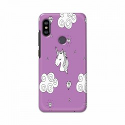 Buy Xiaomi Redmi Note 6 Pro unicorn Clouds Mobile Phone Covers Online at Craftingcrow.com