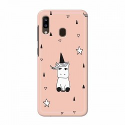 Buy Samsung Galaxy A20 Unicorn Pattern Mobile Phone Covers Online at Craftingcrow.com