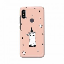 Buy Xiaomi Redmi Note 6 Pro Unicorn Pattern Mobile Phone Covers Online at Craftingcrow.com