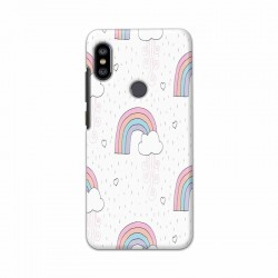 Buy Xiaomi Redmi Note 6 Pro Unicorn Rainbow Mobile Phone Covers Online at Craftingcrow.com