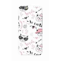 Crafting Crow Mobile Back Cover For Apple Iphone 6 - Kitty
