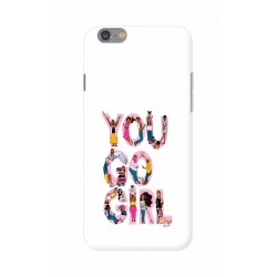 Crafting Crow Mobile Back Cover For Apple Iphone 6 - You Go Girl