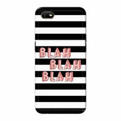 Buy Oppo A1k BlahBlahBlah Mobile Phone Covers Online at Craftingcrow.com