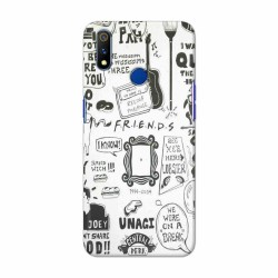 Buy Oppo Realme 3 Pro Friends Mobile Phone Covers Online at Craftingcrow.com