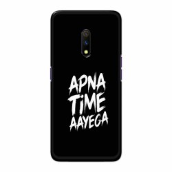 Buy Oppo Realme X apnatimeayega Mobile Phone Covers Online at Craftingcrow.com