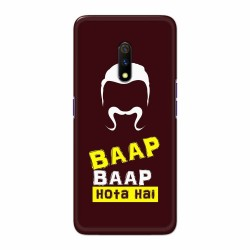Buy Oppo Realme X BaapBaapHotaHai Mobile Phone Covers Online at Craftingcrow.com
