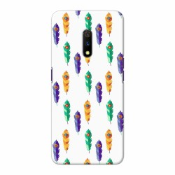 Buy Oppo Realme X Feathers Mobile Phone Covers Online at Craftingcrow.com